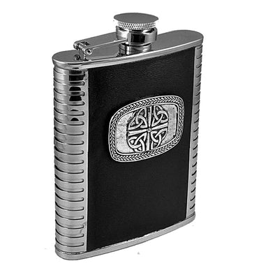 Leather Bound Whiskey Flask