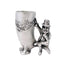 leprechaun shot glass by mullingar pewter