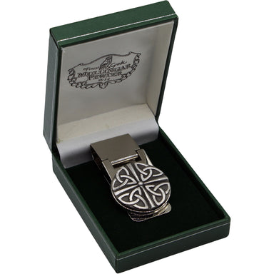 trinity money clip by mullingar pewter in case