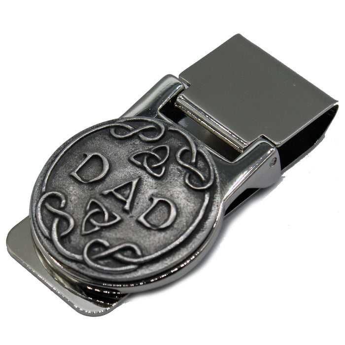 dad money clip by mullingar pewter