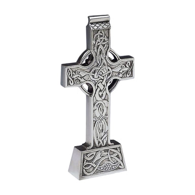 standing celtic cross by mullingar pewter