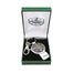 Pewter Dual USB Drive Key Ring
