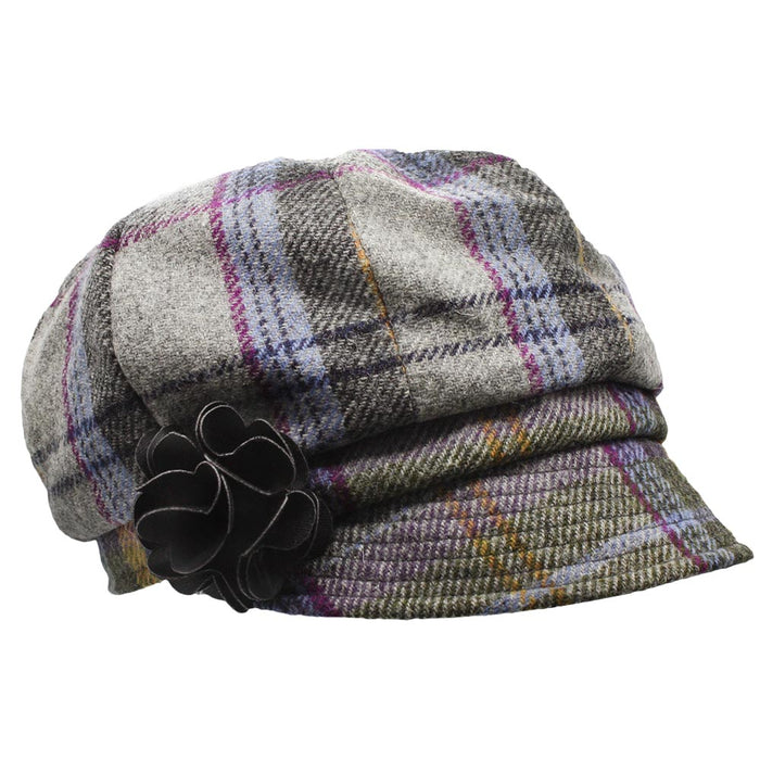 ladies newsboy cap color 203 by mucros weavers