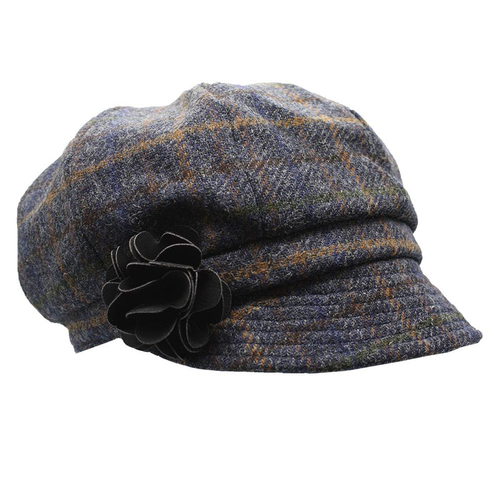 ladies newsboy cap color 781 by mucros weavers