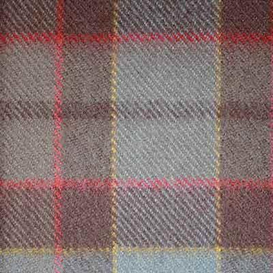 neck tie with authentic premium wool tartan inspired by outlander tv series fraser pattern