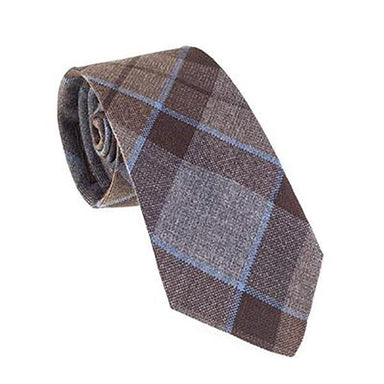 neck tie with authentic premium wool tartan inspired by outlander tv series