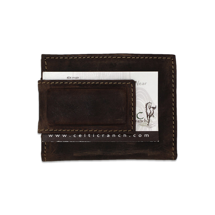 Leather Money Clip & RFID  Wallet