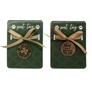 irish bless this pet tag by amscan