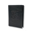 front of RFID passport cover black