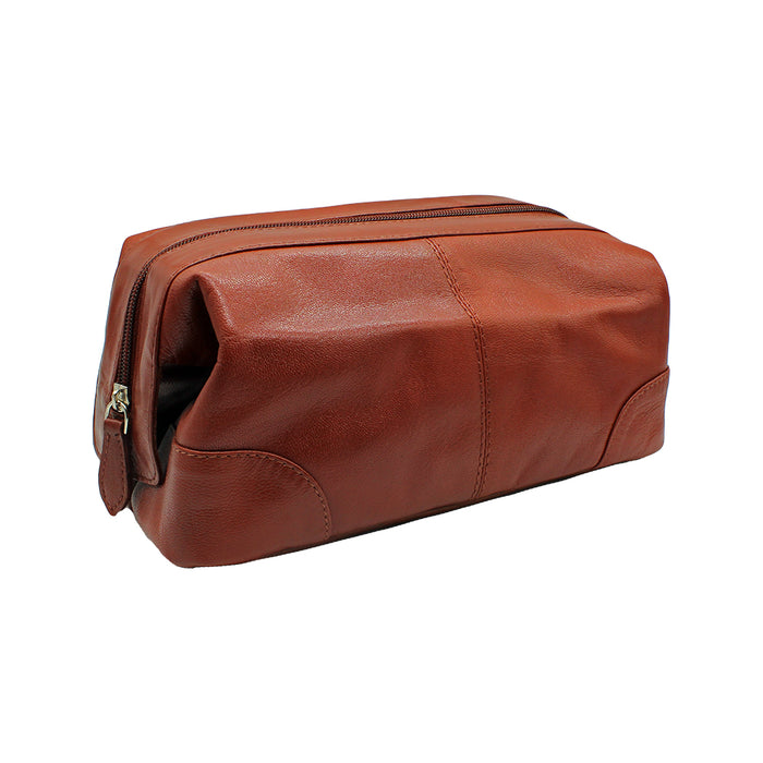 Men's Cow Leather Toiletry Bag