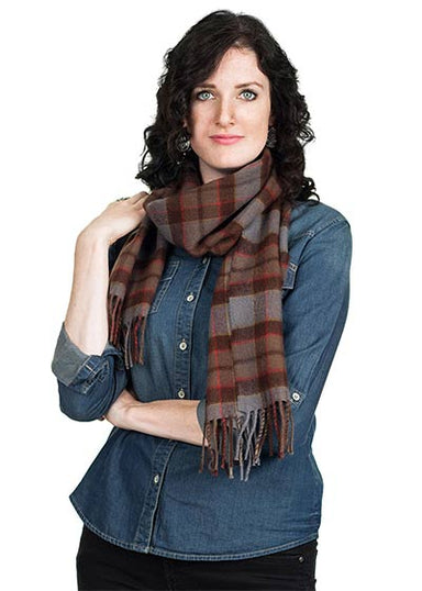 Outlander Scarf Authentic Premium Lambswool Tartan