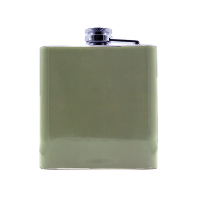 back of scotch whisky hip flask by glen appin