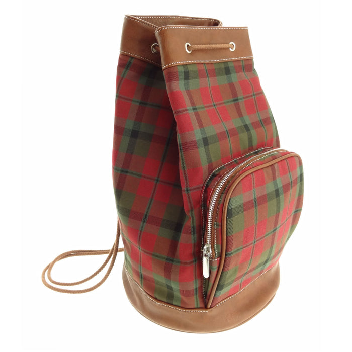 macnaughton tartan scottish duffle bag by glen appin