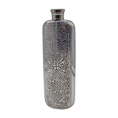 celtic 3 oz flask by english pewter company
