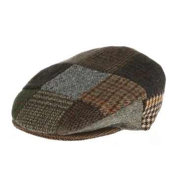 traditional flat patch cap by hanna hats
