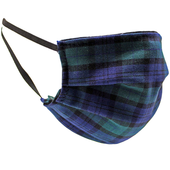 tartan black watch protective cloth face mask