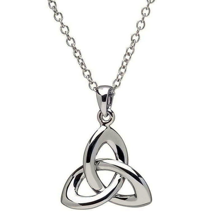 celtic trinity knot necklace by shanore
