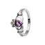 june birthstone claddagh ring by shanore