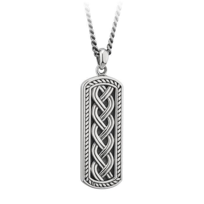 Heavy Duty Sterling Silver Celtic Pendant