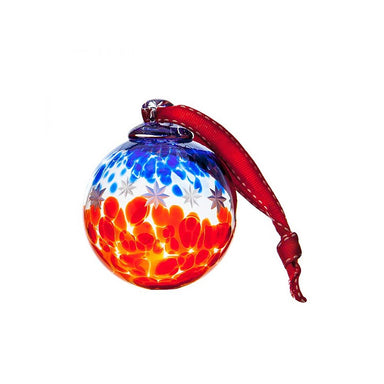Irish Handmade Glass Bauble