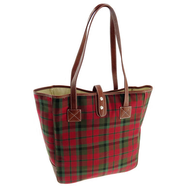 macnaugh tartan shopper bag by glen appin