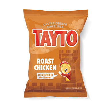 tayto roast chicken potato crisps by food ireland
