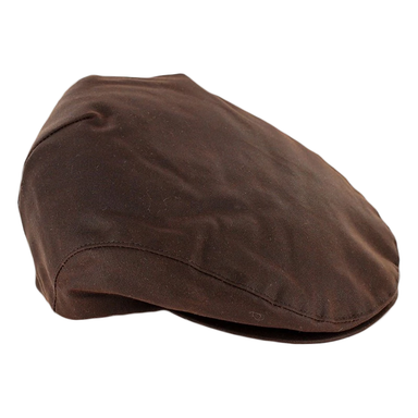 mucros weavers waxed cotton newsboy cap