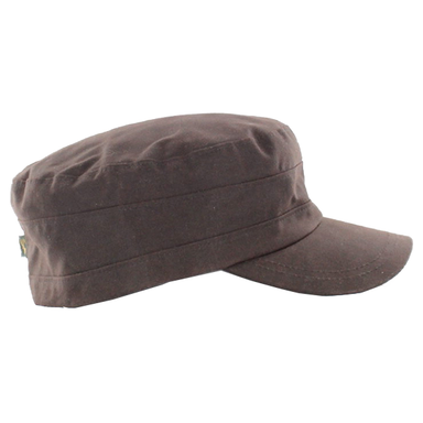 waxed cotton fisherman cap