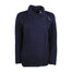 navy blue ladies side zip coat by west end knitwear