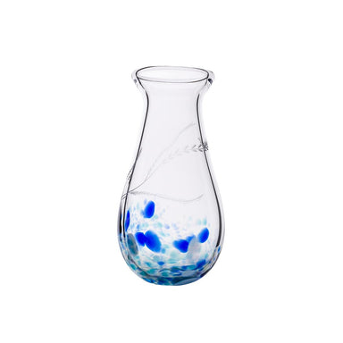 Irish Handmade Medium Glass Vase