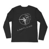 Limitless Long Sleeve White Logo