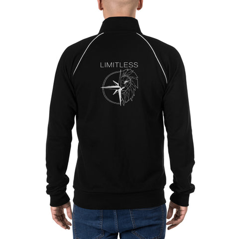 Limitless Fleece Jacket Back Print