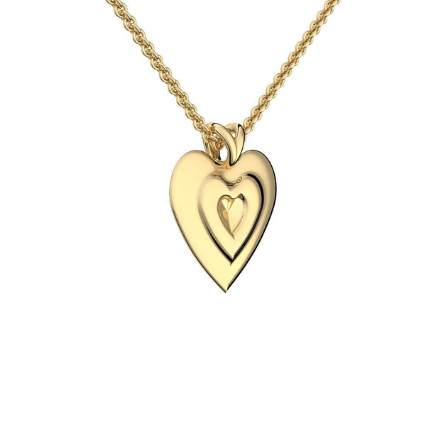 Hearts - Gelbgold 585