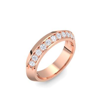 Timeless - Rosegold 585 - Brillant