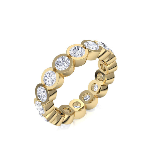 Memory Ring Gelbgold Brillant