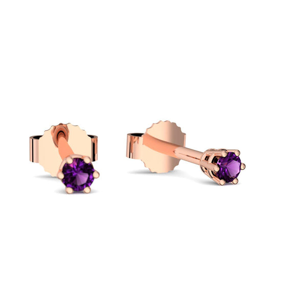 Little Beauty - Rotgold vergoldet - Amethyst