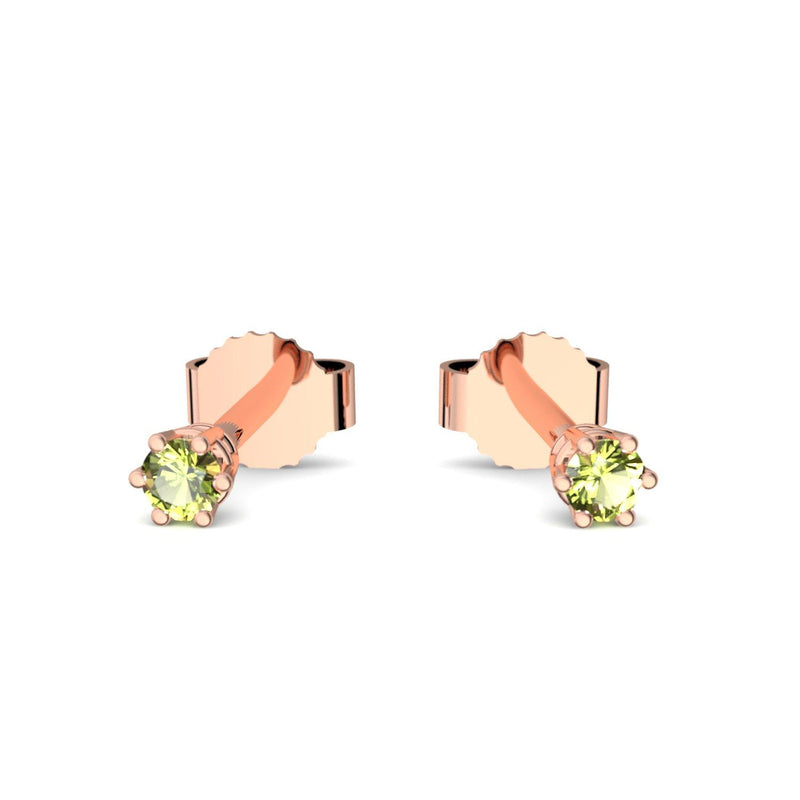 Little Beauty - Rotgold vergoldet - Peridot