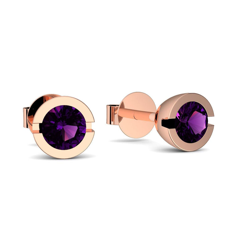 Beauty - Rotgold vergoldet - Amethyst