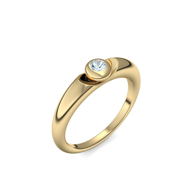 Love Affair - Gelbgold 585 - Aquamarin