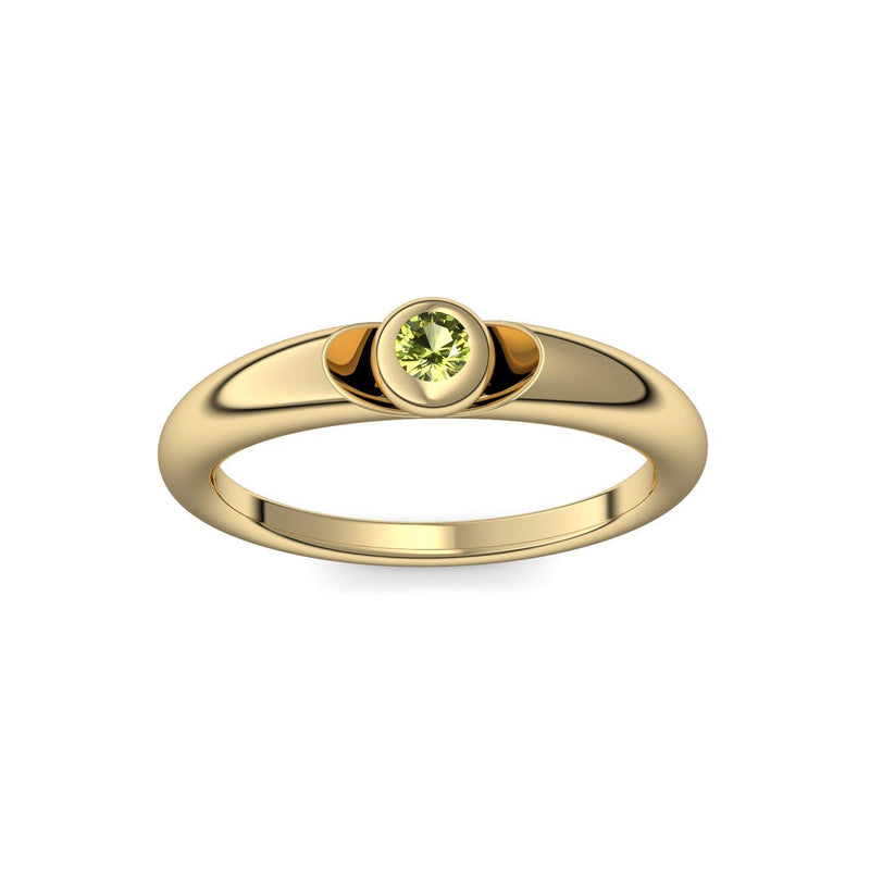 Love Affair - Gelbgold 585 - Peridot