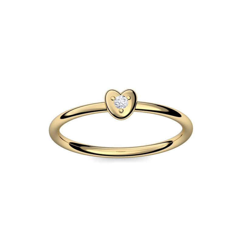 Cute Heart - Gelbgold 585 - Brillant