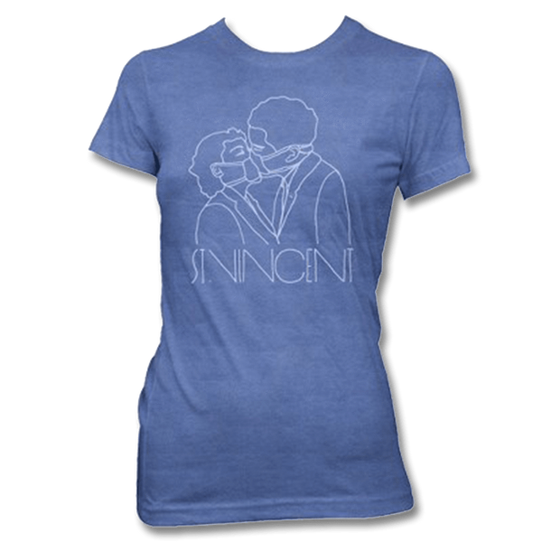 BLUE SURGEON LADIES TEE