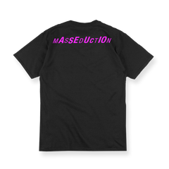 MASSEDUCTION Black Tee