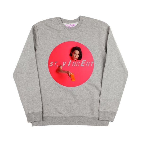 Remote Grey Crewneck Sweatshirt