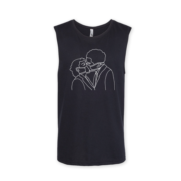 SURGEON BLACK MUSCLE TEE