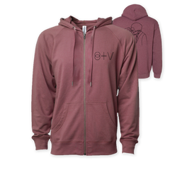 SURGEON PORT ZIP HOODIE