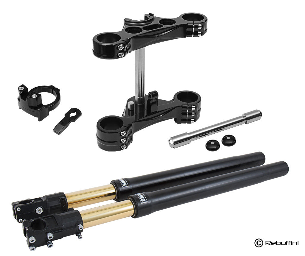 Inverted front fork for H-D FXR, Dyna Indianapolis Special - Rebuffini