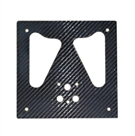 Carbon Fiber Italian License Plate Holder for Harley Davidson Motorcycles