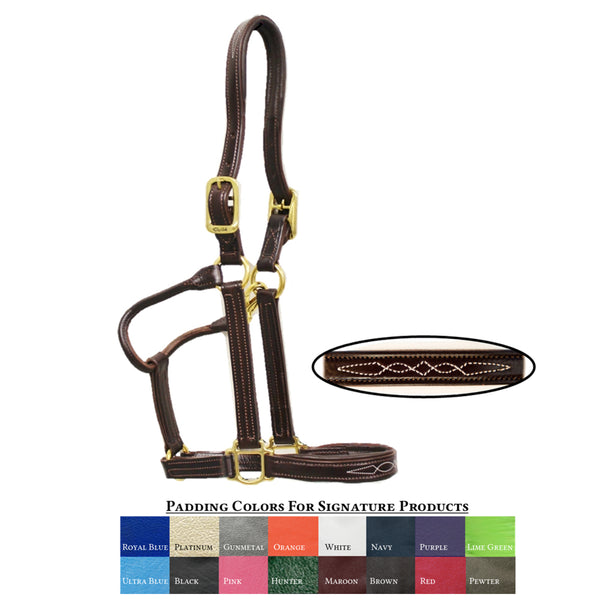 Our Signature Padded Horse Halter - The Polished Rider