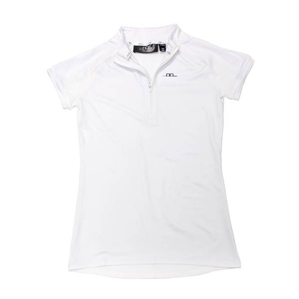 Pula Short Sleeve Half Zip Top - The Polished Rider